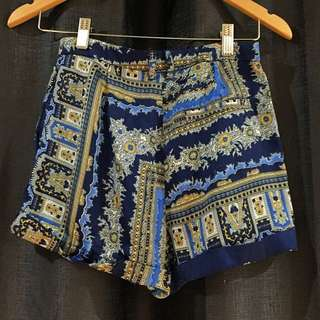Cute silk high waisted pants