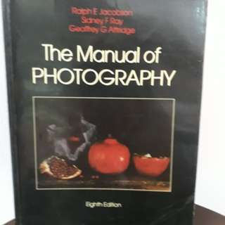 The  Manual of Photograph ( Eighth Edition)