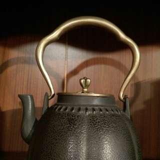日本銅製鑄鐵壺