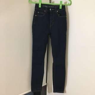 High waist jeans - cotton on