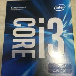 Intel cpu core i3 7100