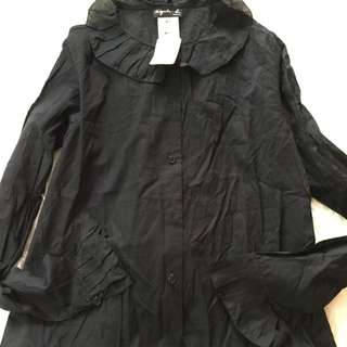New Agnes b black blouse Sz 40