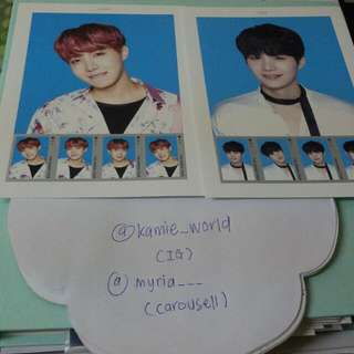BTS STAMP PAPER WINGS TOUR MD