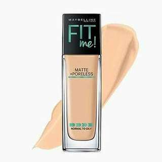 Maybelline Fit Me Foundation - Matte Poreless