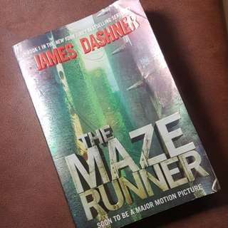 The Maze Runner by James Dashner English Book Novel Buku Bahasa Inggris