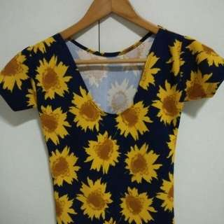 Cute Sunflower top