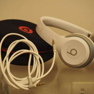 Beats Solo2 - White (comes with receipt)