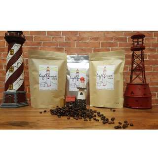 Lighthouse Brew Coffee (Ground & Beans coffee) {w/ gift tags}