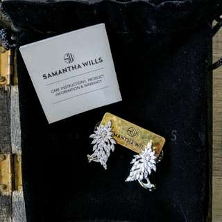 Samantha Wills - Wisteria Poem Cuff earrings (Bridal Collection)