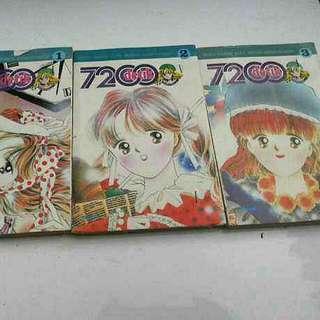 Komik Elex Serial Cantik 7200 Detik Seri 1-3