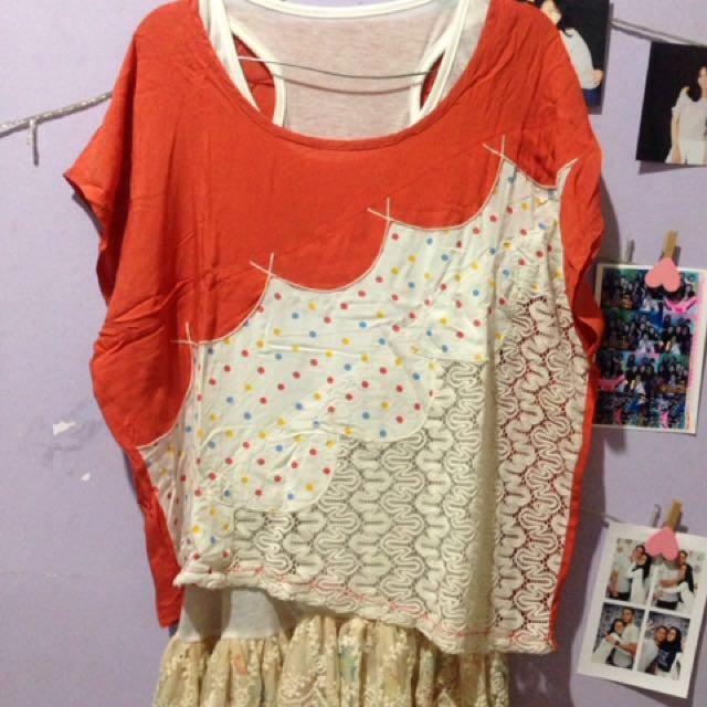 1 Set Dress+outer