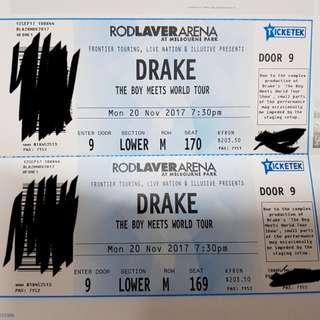Drake Melbourne 20th November 2017 2x A-reserve