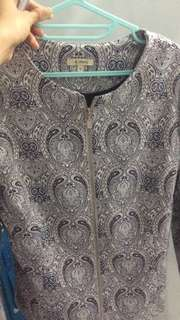 Etcetera Jacket Tribal Blue