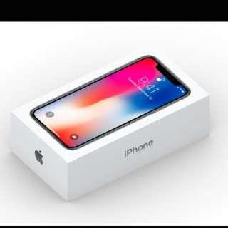 iPhone X - Space Grey 256gb