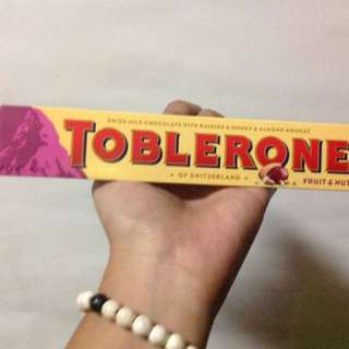 Toblerone fruits & nuts 100g