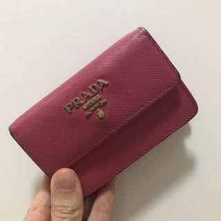 Prada Card Holder 粉紅色