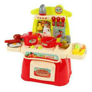 Cook Happy kitchen play set
