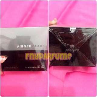 Perfume AIGNER BLACK 125mL (segel)