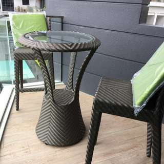 Outdoor Bar Table And Bar Chairs