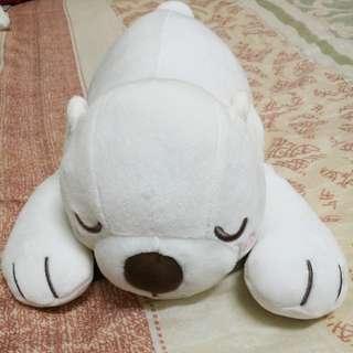 Miniso white polar bear soft toy