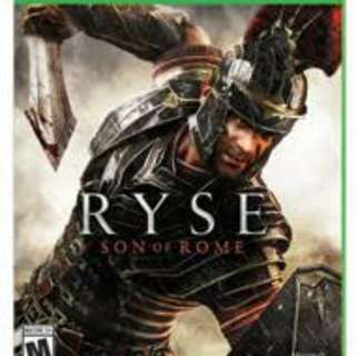 WTS RYSE Son of rome Xbox one game