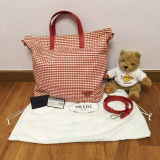 Prada Tessuto Stampato Bag - LIMITED EDITION