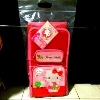 Authentic Hello Kitty School Bag (Item No. KT-371)