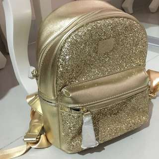 Gliterry Gold Backpack Import