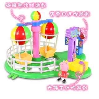 粉紅豬小妹 PEPPA PIG 歡樂樂園-熱汽球遊戲組(含運)#幫你省運費