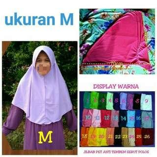 Jilbab Serut / Brego Harian / Kerudung Bahan Kaos