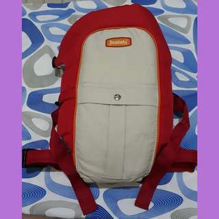 Repriced: Juniors red baby carrier