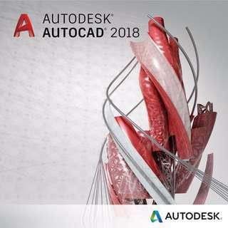 Autocad 2018 ( autodesk ) Commercial