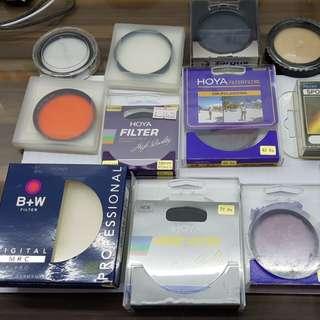 B+W, Hoya, Kenko, Marumi Filters