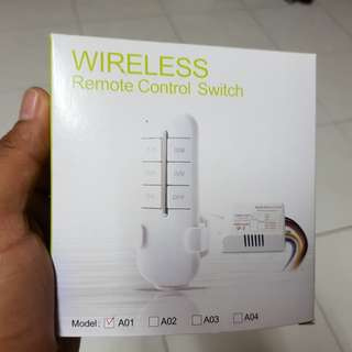 Wireless Remote Control Switch #PayWithBoost