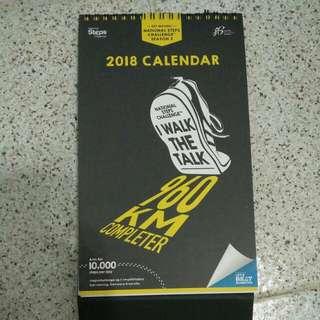 HPB completer 2018 Desk Top Calendar