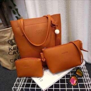 Ladies Bag (3 pcs per set)