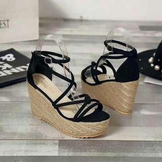 Korean wedge Heels
