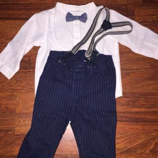 mothercare babyboy suit