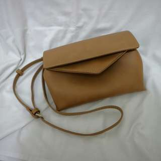 Zalora Brown Sling Bag