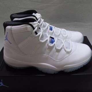 Nike Air Jordan retro 11 XI Legend Blue Columbia AJ 11代 Men 男裝 us7.5 8 9 9.5 10