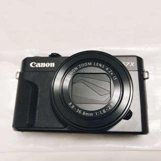 Canon g7x mark ii hanya pakai 1x garansi resmi,mulus,lengkap