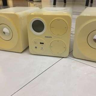 Philips mini radio & CD PLAYER