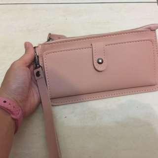 爆款收納包皮夾(粉色)