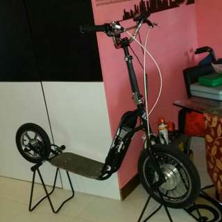 <<WTS>>TCSS - 90v Customized High Powered Scooter - SGD $7800/- (Nego.) New
