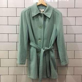 Wool Blazer Coat