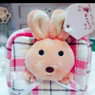 小兔兔和小熊零錢包 (全新) 特價180含運費~  商品售出不退換貨