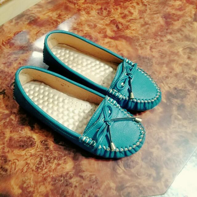 莫卡辛豆豆鞋36