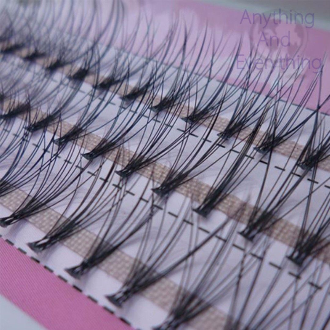 60 Individual Cluster Eye Lashes