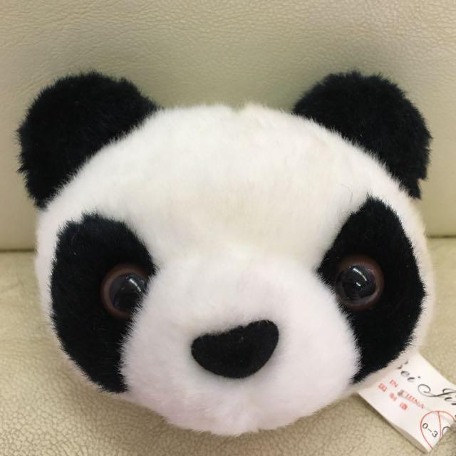 熊貓零錢包 鑰匙圈