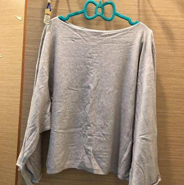 韓版 寬袖 針織
